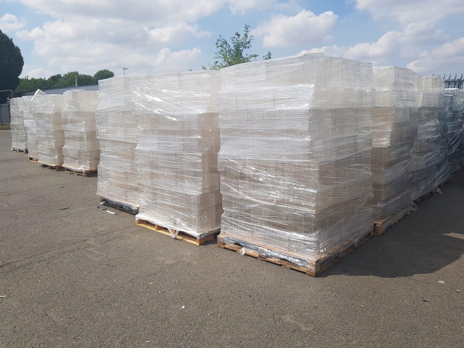 Plastic for toll granulation