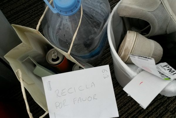 Do you separate your rubbish into recyclables on holiday?